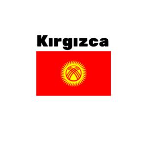Kırgızca çeviri