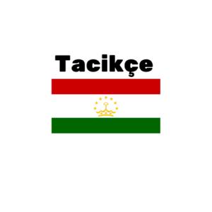 Tacikçe çeviri